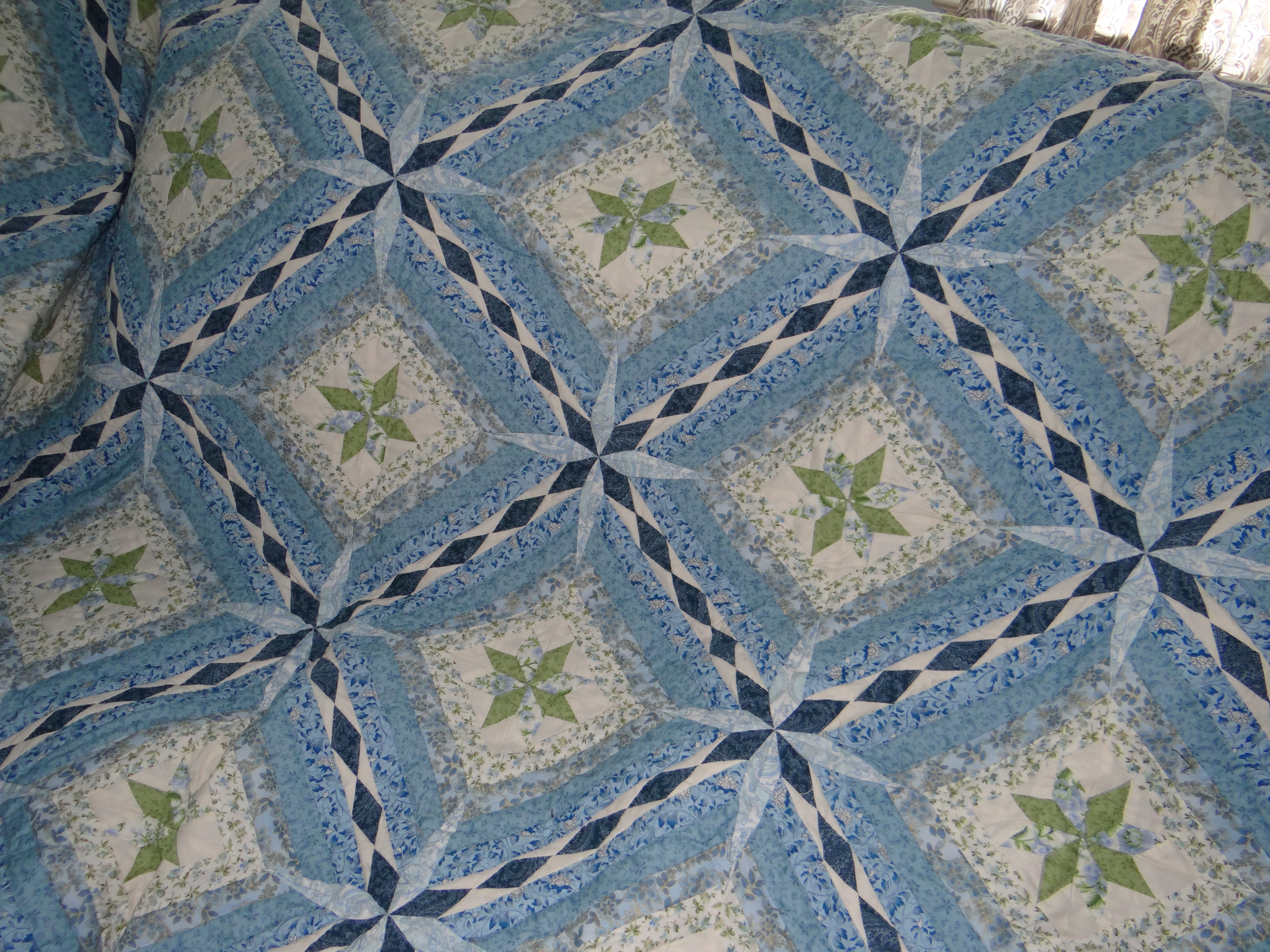 Queen Size Quilt Handmade Amish