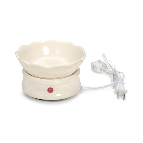 Darice Ivory Embossed Wax Melter