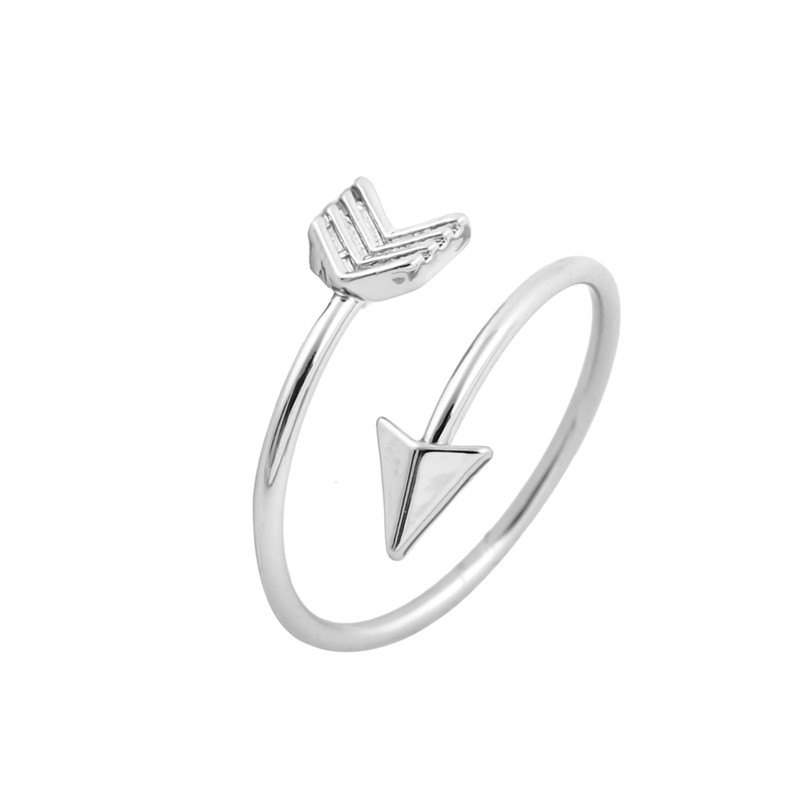Classic Silver Arrow Ring Adjustable