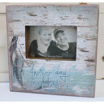 Another Day in Paradise Mermaid Picture Frame