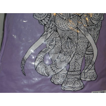Color Elephant Pillow