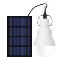 Solar Powered LED Light Bulb