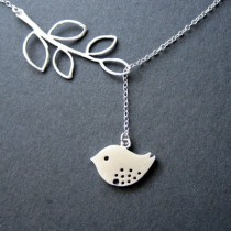 Hollow bird Necklace