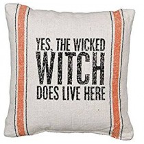 Wicked Witch Decorative Pillow