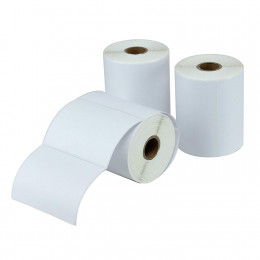Top Coated 4 x 3 Direct Thermal Label