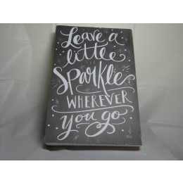 Leave a Little Sparkle Box Picture