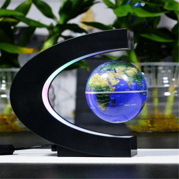 LED Levitating Floating Globe Lamp