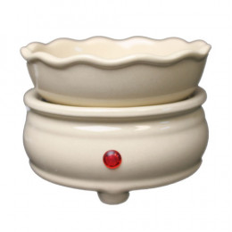 Electric Ceramic Wax Melter, White