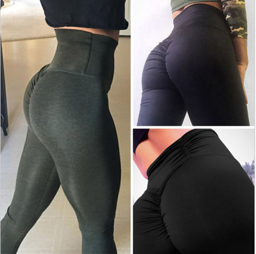 High Waist Yoga Push Up Pants